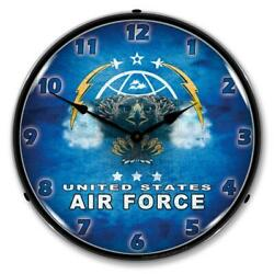 United States Air Force 14 Led Wall Clock