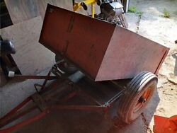 Used Simplicity Garden Tractor Vc Snow Blower Mower Sickle Bar Trailer Plow