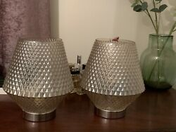 Taupe Glass Lamps