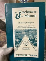 The Watchtower And The Masons 1st Ed 3rd Release Fritz Springmeier Anti-masonic