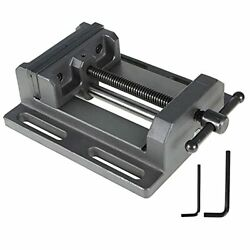 6 Heavy Duty Low Profile Drill Press Vise With Stationary Base For 6inch