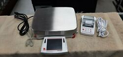 Ohaus Precision Balance Scale Model Explorer Ex12001 Great Condition Ships Free