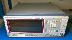 Rohdeandschwarz Sfq 2072.5501.10 With Opt B5 - Tv Test Transmitter As-is