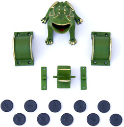 """Cadenas - Frog Game / Sapo Game/ Toad In The Hole Game """"complete"""" Cast Iron New"""