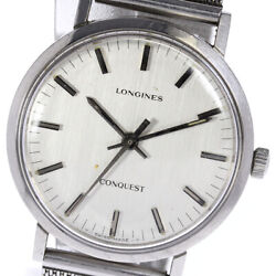 Longines Conquest Antique Silver Dial Automatic Menand039s Watch_625595