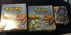 Pokemon The First Movie Booster Box X2 Empty + Lot Of Cards Priced For Quicksale