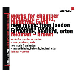 English Chamber Orchestrathe - Earle Brown Contemporary Sound Seriesvol.2