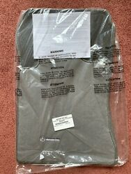 Genuine Mercedes R129 Sl Class Grey Floor Mats Velour Carpet 350 500 600 And03990-and03902