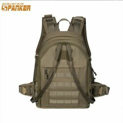 Tactical Backpack Vest Quick Rescue Molle Army Military Hiking Outdoor Hunting