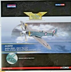 Corgi Spitfire Prxix-ps915 The Last Aa38704 1/72 Rare And Hard To Find New