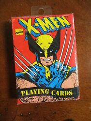 Marvel Comics X-men Deck Playing Cards New Sealed