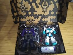 Transformers Selects Shattered Glass Optimus Prime Ratchet New Factory Sealed