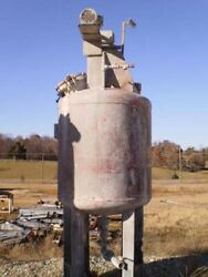 Patterson 500 Gal Tank 3.5and039 Dia X 4.6and039 H 316ss 85344