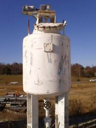 Patterson 500 Gal Tank 3.5and039 Dia X 4.6and039 H 316ss 85343