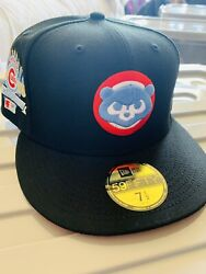 Hat Club Exclusive Chicago Cubs Don Paul Leone 7 1/2 Infrared Uv New Era Rare 🔥