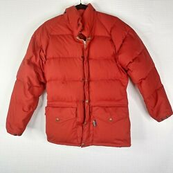 Vintage Class-5 Goose Down Jacket Coat Mens Size Small S Mountaineering Puffer