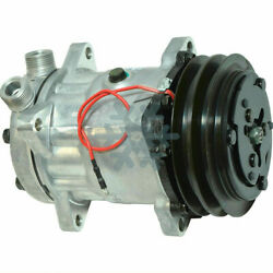 A/c Compressor Fits Ford New Holland Tractor Tl - Ref 5165548 / 5165549