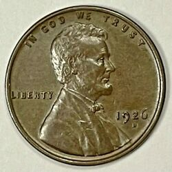 1926 D Lincoln Cent Wheat Penny. Uncirculated 1028 1