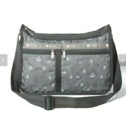 My Neighbor Totoro Lesportsac Gray Deluxe Everyday Bag Classic Shoulder M