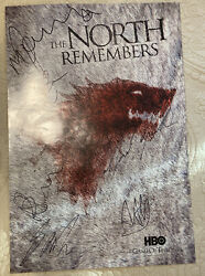 Sdcc 2012 Game Of Thrones Signed Poster