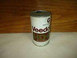 Vintage Veedol Hd+ Getty Oil 1 Imperial Quart Oil Can Tin Empty Canada Sae30