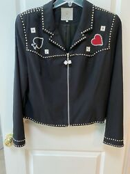 Double D Ranch Fabulous Casino Outfit- Jacket, Pants, Skirt-limited Edition-nwot