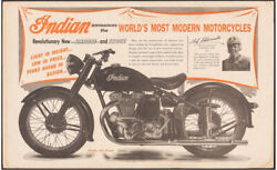 Indian Motorcycle Announces The Worldand039s Vintage Poster 1948