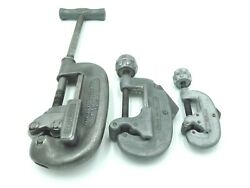 Ridgid No. 2 Hd 1/8-2 And No. 20 5/8-2 1/8 And No. 15 3/16-1 1/8 Pipe Cutters