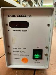 Carl Zeiss 910235 Hbo 100 Arc Lamp Power Supply For Microscope Lamp