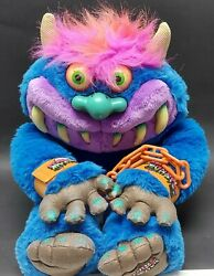 2001 My Pet Monster, Toymax - Talks, With Handcuffs, Rare