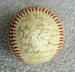1980 Detroit Tigers Team Signed Autographed Baseball Gibson Trammell Lopez