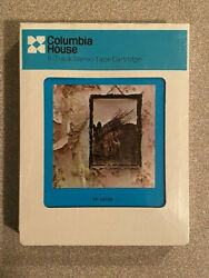 Very Rare Sealed Led Zeppelin Self Titled 8 Track Tape Tp 19129