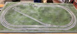 Kato N Scale Tri-r Railroad Track Set For 2' X 4' Area Options Available
