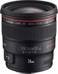 Canon 24mm F/1.4 Ef L Ii Usm Lens With Case 2750b005aa