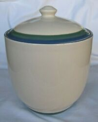 Pfaltzgraff Ocean Breeze Large Canister - 7.5h X 8w - Excellent Condition