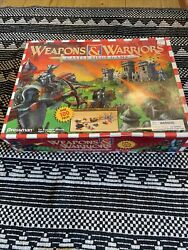 Weapons And Warriors Castle Siege Game Medieval Combat Pressman 1995 Sealed Bags