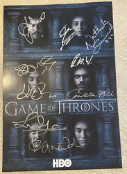 Sdcc 2016 Game Of Thrones Signed Poster