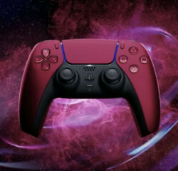 Official Sony Ps5 Dualsense Wireless Controller [ Cosmic Red Edition ] New