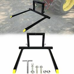 3 Point Tractor Pallet Forks Hitch Forks 1 Tractor Bucket Attachments Adjustable
