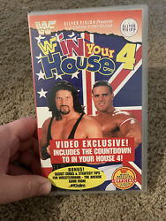 Wwf In Your House 4 Great White North Vhs, Wwe, Diesel, Bulldog, Ntsc