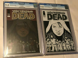 The Walking Dead 1 Wizard World Sacramento Sketch And Color Editions Lot Cgc 9.8