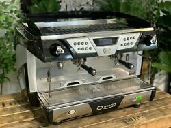 Astoria Plus 4 You Ts 2 Group High Cup Black Espresso Coffee Machine Commercial