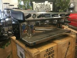 Expobar Megacrem 3 Group Stainless Steel Espresso Coffee Machine Commercial Cafe