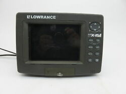 Lowrance Lcx-15mt Boat Marine Fishfinder Gps Chartplotter For Parts