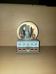 1999 Macy's Thanksgiving Day Parade Musical Snow Globe Twin Towers Nyc Tested