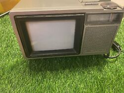 Vintage 1985 Sears Solid State 564-40020450 Color Tv Portable Ac/dc Uhf-vhf Rare