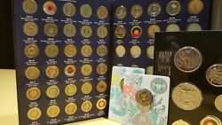 2012-2021 2 Collection 37 Coins - No Red Poppy Yes Coronation Remembrance