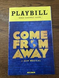 Come From Away Playbill - Jenn Colella February 2018
