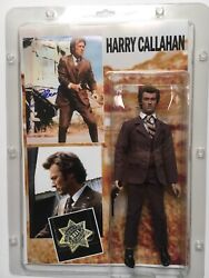 Clint Eastwood Signed Autograph Dirty Harry Photo And Collectible Figure Loa