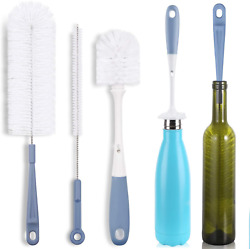 Bottle Cleaning Brush Set - Long Water Bottle And Straw Cleaning Brush